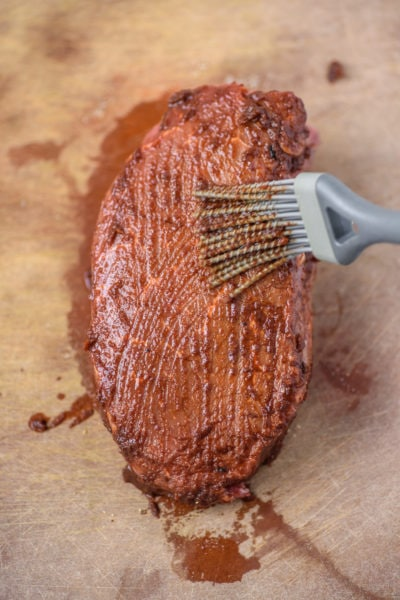Steak meat dressed in Chipotle Adobo