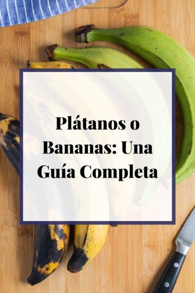 Comida Latina Caribeña: Plátanos