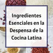 Graphic. Pantry essentials in Latin cooking.